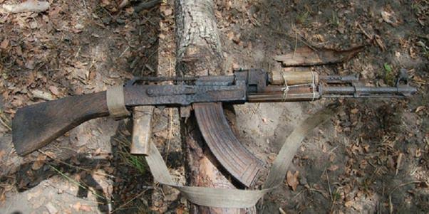 Rusty Chinese AK 47
