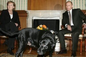 Vladimir Putin and Markel