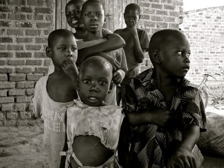 poverty stricken children