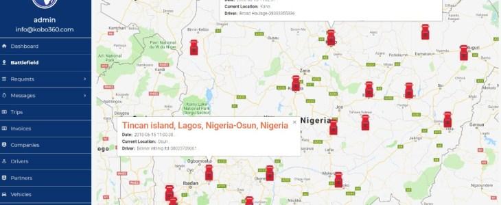 Nigerian logistics startup Kobo360