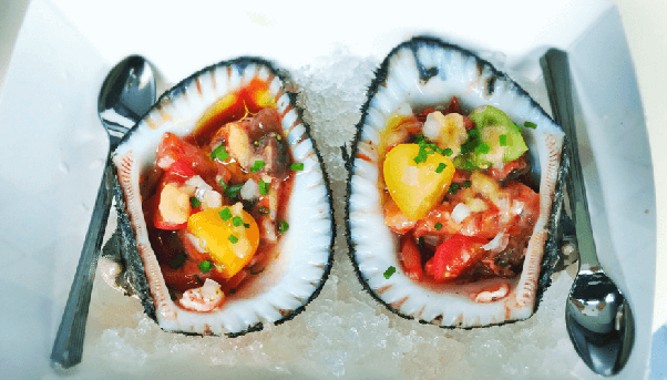 Blood clams