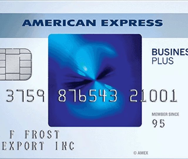 The Blue Business E2 84 A0 Plus Credit Card From American Express