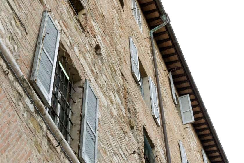 Le antiche case di Perugia
