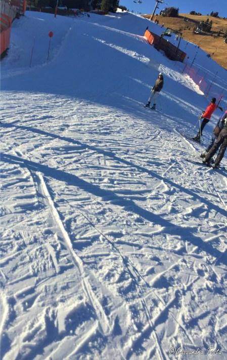 Sulle piste di Alpe di Siusi