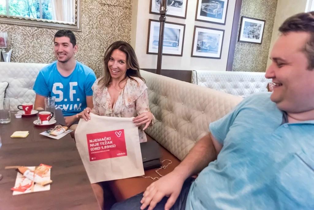 kaffee und kolač, Dođite na peti 'Kaffee und kolač, bitte!' i besplatno naučite njemački jezik