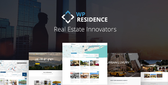 Residence - Best Real Estate Theme WordPress