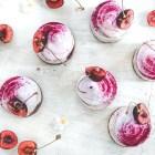 Mini Vegan Cherry Cheesecakes