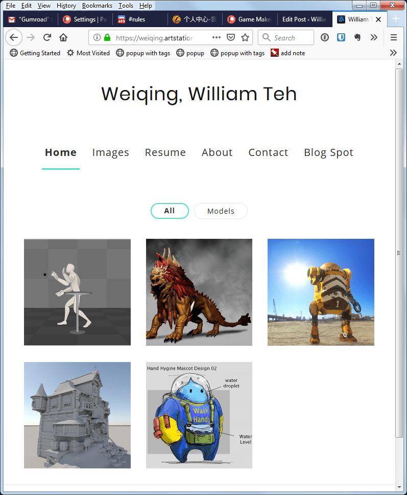 Artstation Blog William Teh