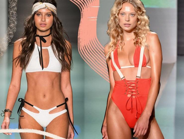 3a7eed3fc35 Μαγιό 2018: Γνώρισε τα νέα trends του καλοκαιριού Οι top τάσεις σε ολόσωμα  & μπικίνι από την εβδομάδα μόδας του Miami