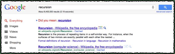 google-did-you-mean-recursion