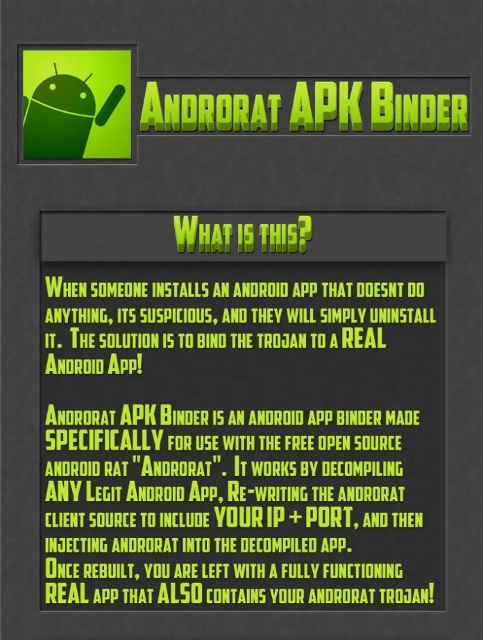 AndroRAT-binder