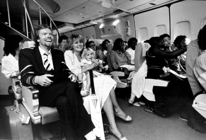 Virgin Airlines - First Plane