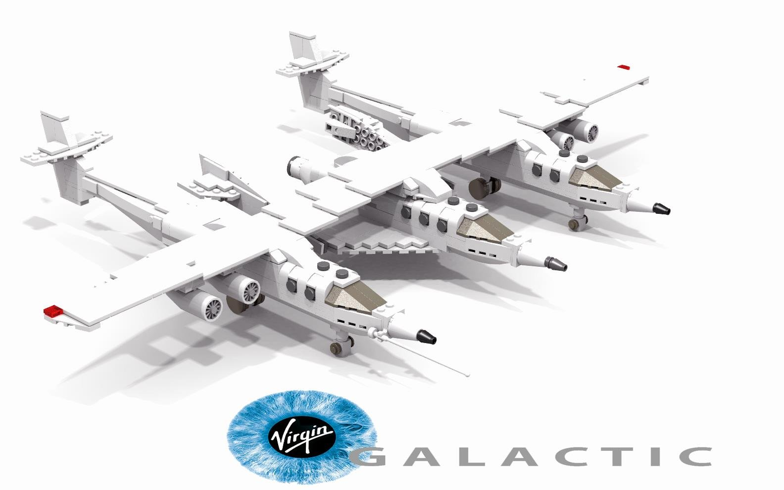 Brick By Brick Could This Be Virgin Galactic Lego
