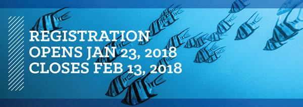 Registration Opens Jan 23 & Closes Feb 13