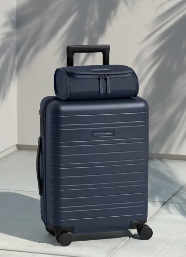Top case ontop of suitcase