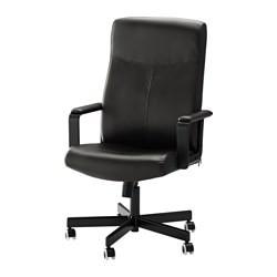 Malkolm Chaise Pivotante Noir Ikeapedia
