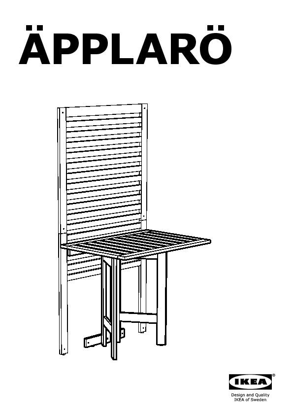 applaro pann mural table pliante 2