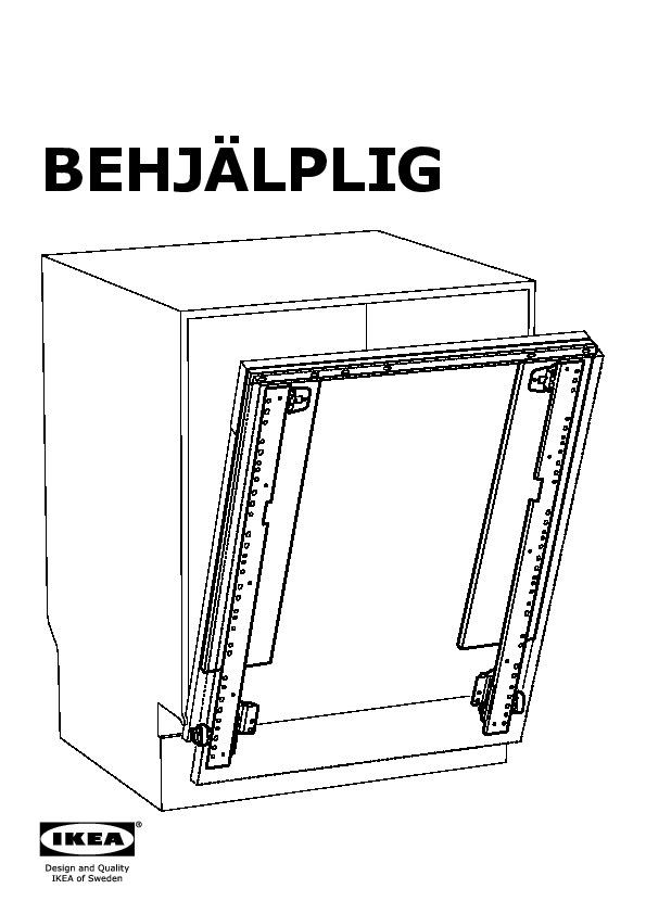 Behjälplig Charnière Coul Lave Vaisselle Intég Ikea France