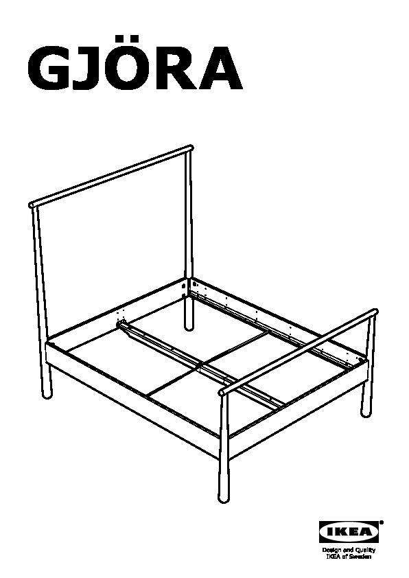 Gjöra Structure De Lit Bouleau Ikea Canada French