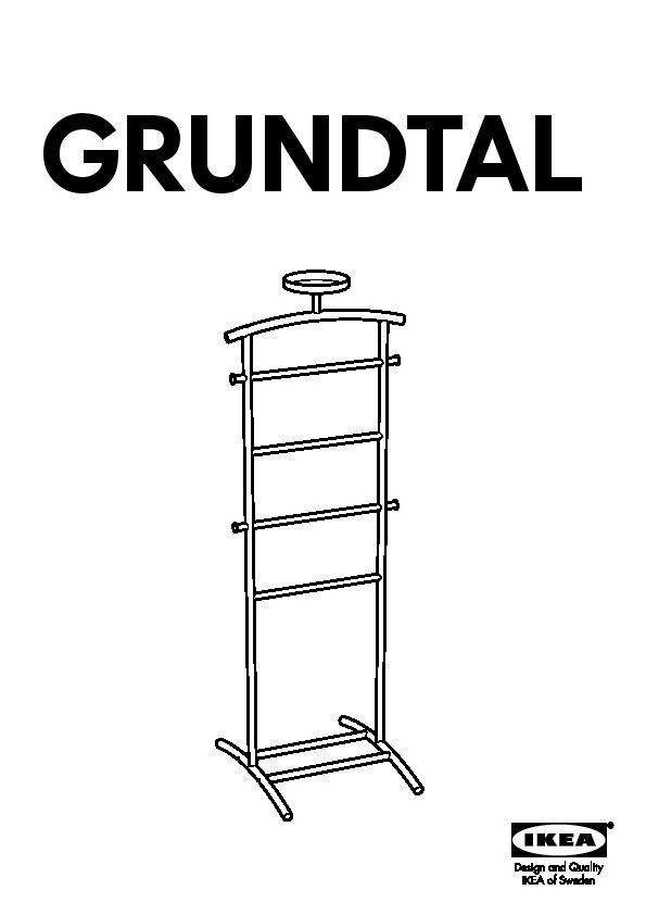 Buy Ikea Mulig Valet Stand Off 56