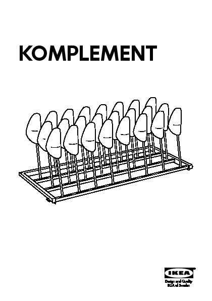 Rangement Chaussures Komplement Ikea