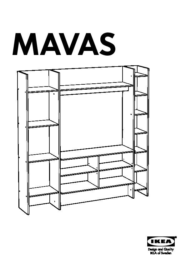 mavas meuble tv hifi blanc ikeapedia