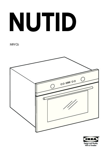 nutid mwc6 micro ondes combi air pulse