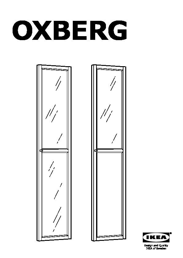 oxberg panneau porte vitree ikeapedia