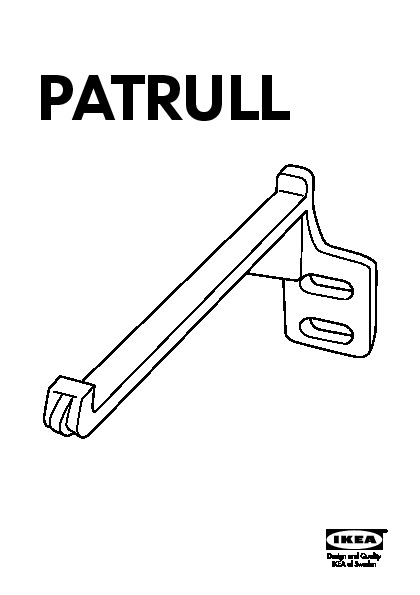 Patrull Bloque Porte Tiroir Noir Ikeapedia