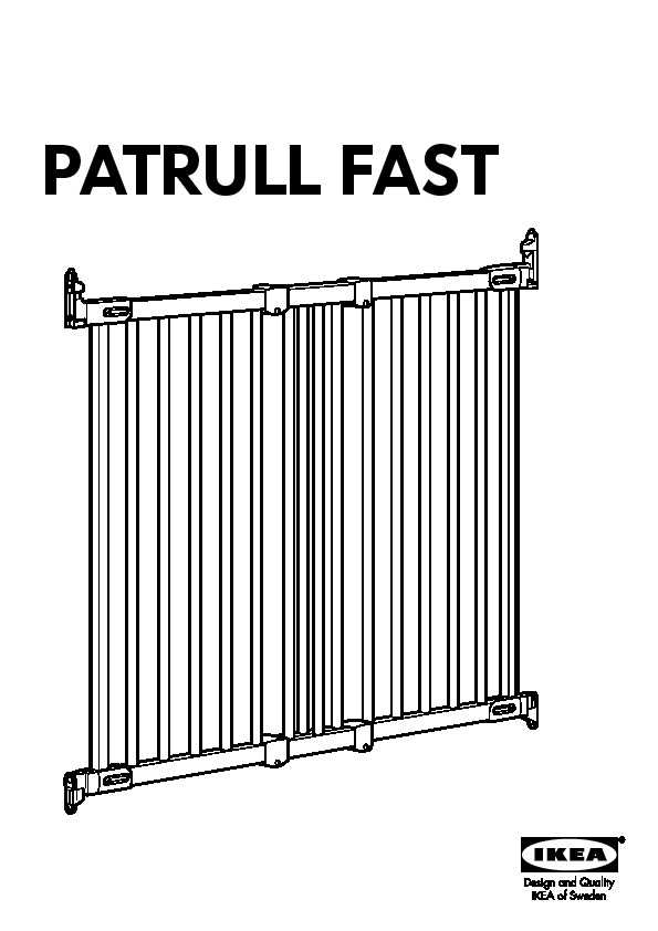 Patrull Fast Barrière De Sécurité Blanc Ikea France