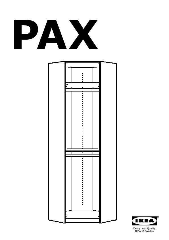pax structure d angle chene blanchi