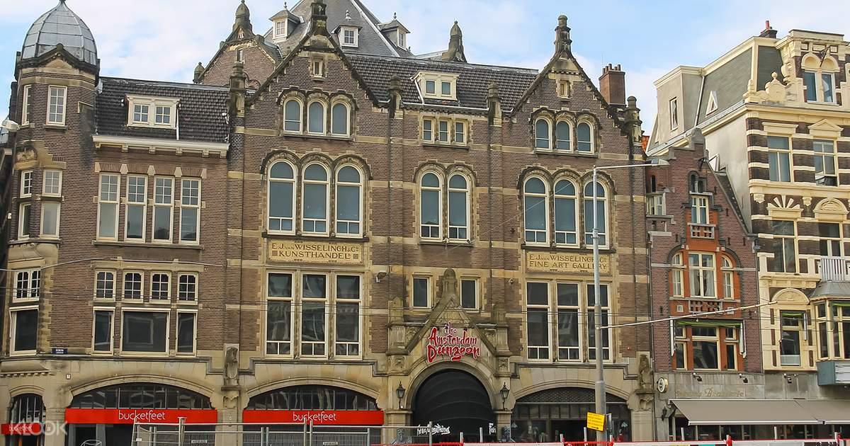 Amsterdam Dungeon Tickets Klook