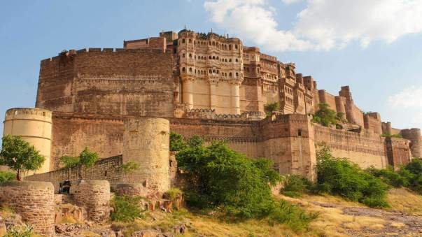 Historical places in India Golconda fort