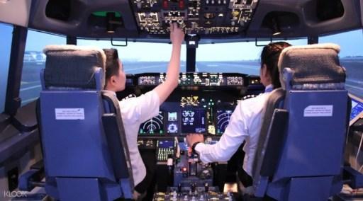 飛行模擬體驗