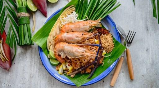 曼谷Nee Orn Thaifood.Art - 暹羅廣場的泰式炒粉