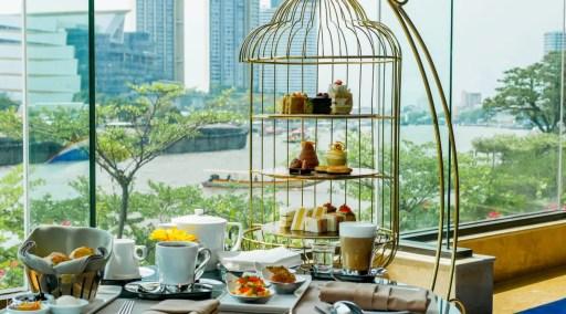 曼谷香格里拉飯店 金鳥籠下午茶