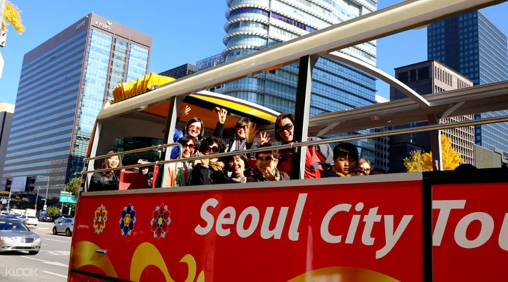 حافلة سيول لمشاهدة معالم المدينة
