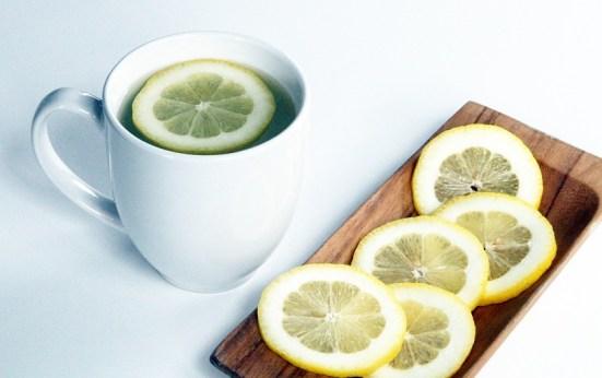 Image result for drink hot water lemon
