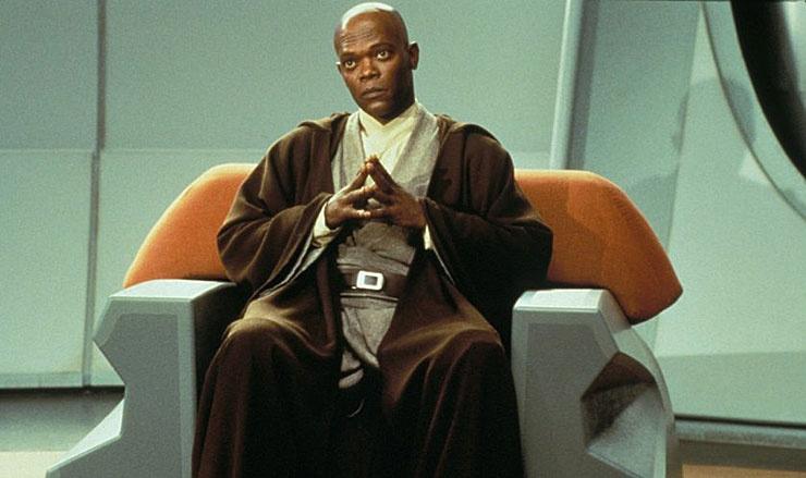 Star Wars: Episod I - Det mörka hotet (1999) : Samuel L. Jackson