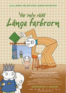 Poster Var inte rädd Långa Farbrorn (2011)