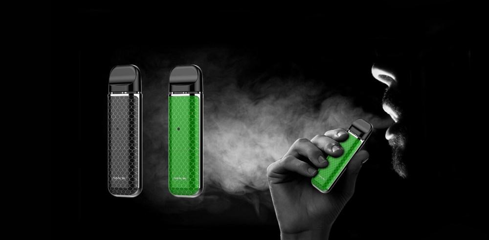 Ergonomically Designed Mouthpiece of SMOK NOVO Kit