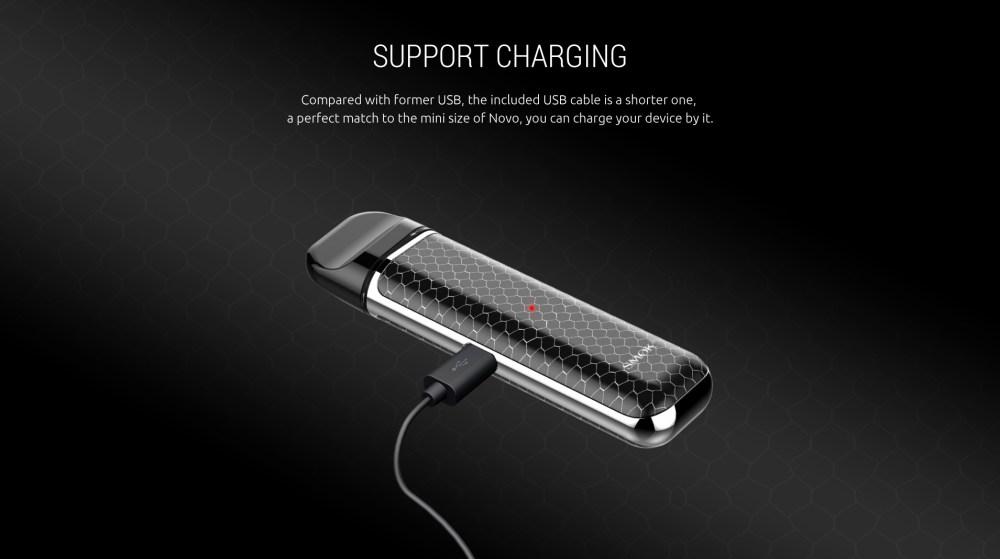 SMOK NOVO Kit Support USB Charging