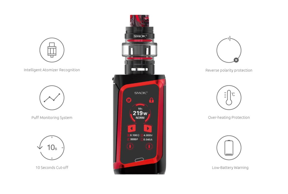 Multiple Protections of SMOK Morph 219 Kit