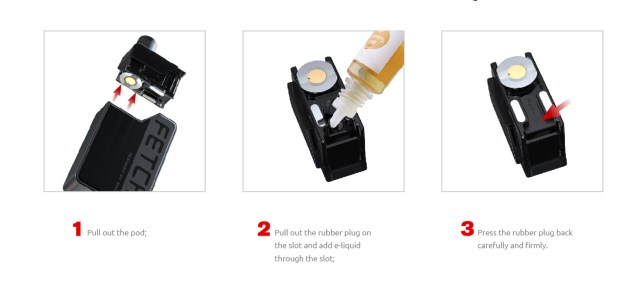 How to Fill E-Liquid to SMOK Fetch Mini