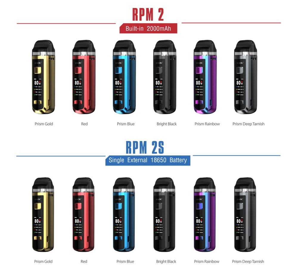 RPM 2 KIT - AVAILABLE COLOURS