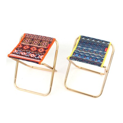 Outdoor Small Folding Chair Aluminium Alloy Folding Stool Adult Mini Portable Chair For Barbecue Or Fishing Train Stool Fishing Chairs