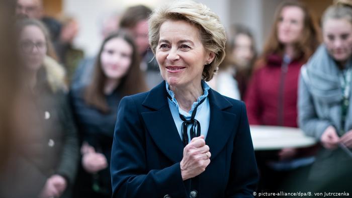 فون دير لاين رئيسة المفوضية الأوروبية