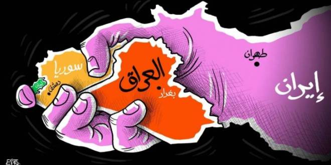 سيطرة إيران على العراق وسورية