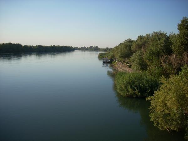 نهر الفرات في ديرالزور