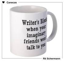 Bloqueio de escritor: quando seu amigo imaginário não quer falar com você